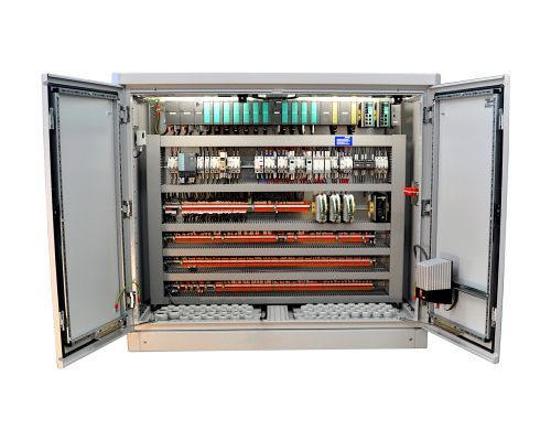 Control cabinets and automation
