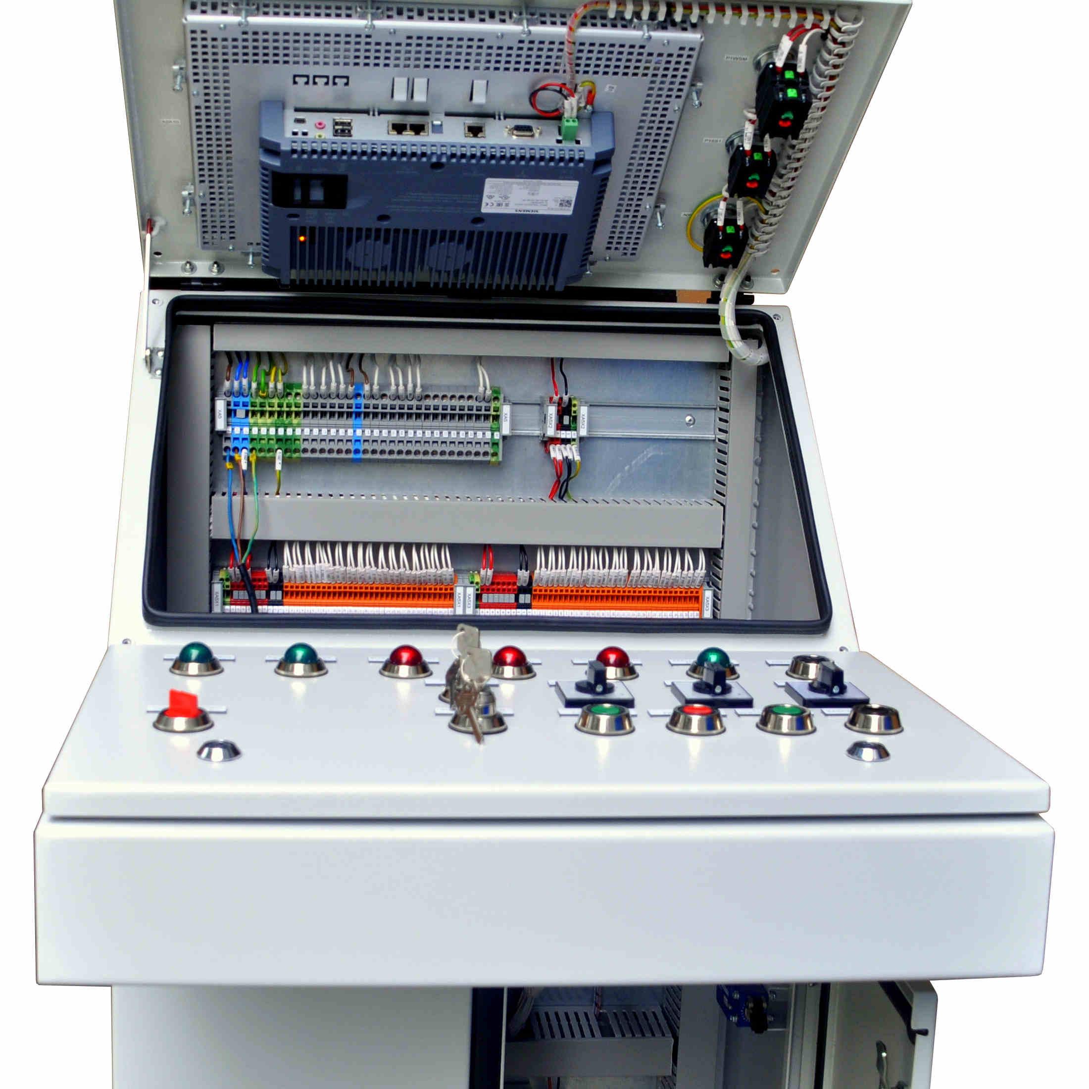 pulpit sterowniczy do maszyn i urządzeń stacjonarnych